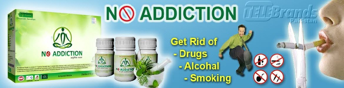 no addiction Pakistan