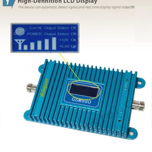 GSM Signal Booster LCD