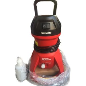Homelite Car Pressure Washer 11