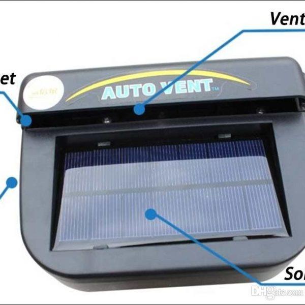 Solar Powered Auto Fan