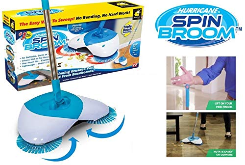 Cordless Spin Broom Sweeper