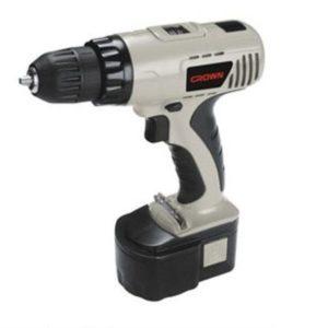 Crown CT21004N Cordless Drill Machine 10 mm 14.4 Volt.