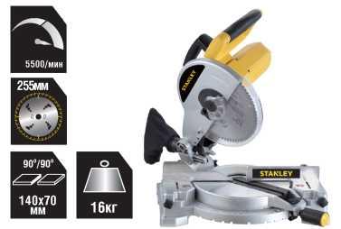 Stanley 1500 Watt 254mm Compound Miter Saw PK 11