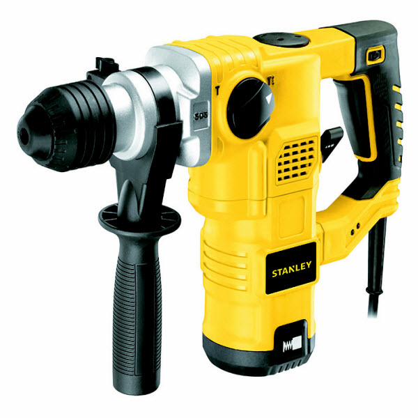 Stanley STHR323K 32 mm 1250 watt 3 Model L-Shape SDS-Plus Hammer 11