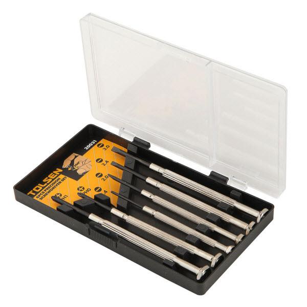 Tolsen 20031 6 Pieces Precision Screwdriver 11