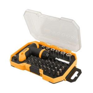 Tolsen 20036 41 Pieces Bits and Socket Set