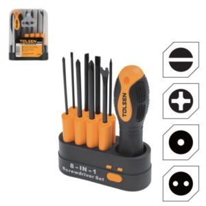 Tolsen 20039 8 in 1 Screwdriver Set