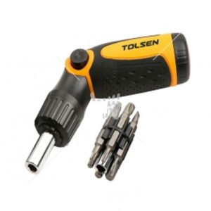 Tolsen 20040 14 in 1 Ratchet Screwdriver