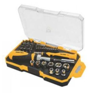 Tolsen 20041 42 Pieces Bits and Socket Set