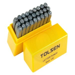 Tolsen 27 Pieces Letter Punch 11