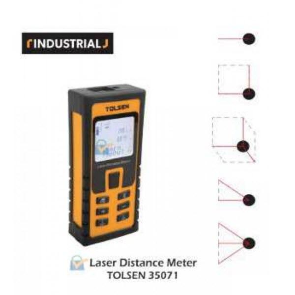 Tolsen 35071 Laser Distance Meter PK 11
