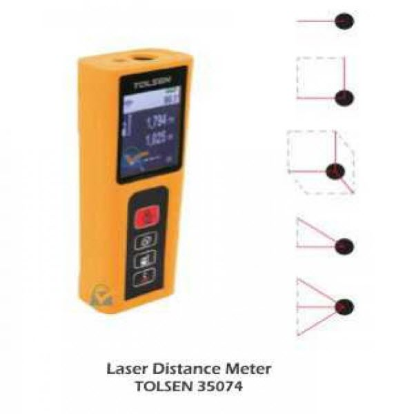 Tolsen 35074 laser Distance Meter PK 11