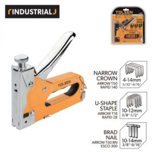 Tolsen 43021 Heavy Duty 3 Way Staple Gun PK 11