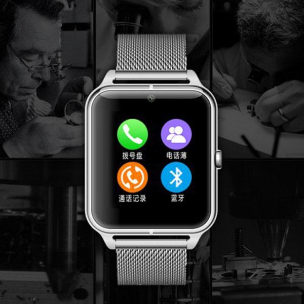 Stainless Steel Smartwatch Z50
