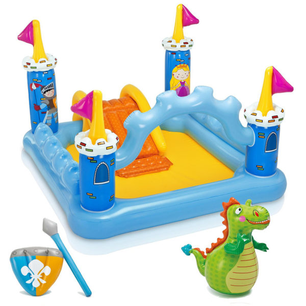 INTEX INFLATABLE FANTASY CASTLE PLAY CENTER POOL 57138