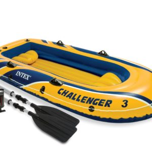 Intex Inflatable Challenger Sports Boat 3 Pieces Set PK