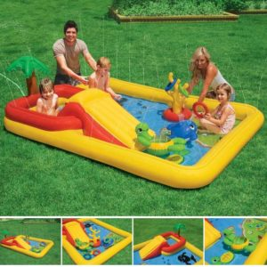 PAK Intex Inflatable Ocean Play Center