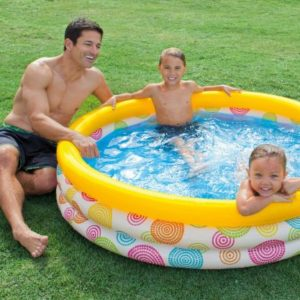 Intex Inflatable Wild Geometry Pool in PAK