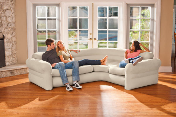 Intex Inflatable and Comfortable Corner Sofa PK