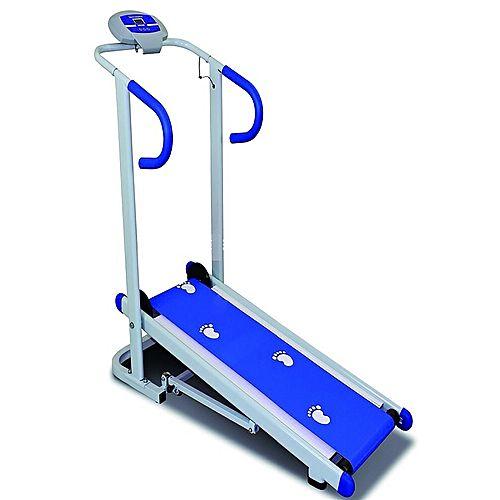 Manual Treadmill Blue and White 901 PK