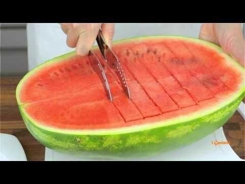 PK Angurello Stainless Steel Watermelon Fruit Cutter & Server