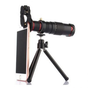 22x Telephoto Lens with Tripod