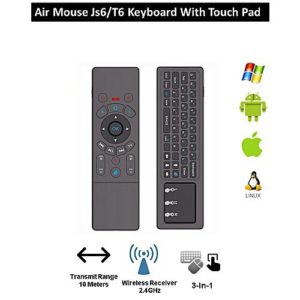 Air Mouse JS6T6 Keyboard with Touchpad