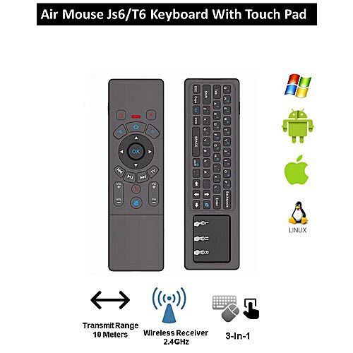 Air Mouse JS6/T6 Keyboard with Touchpad