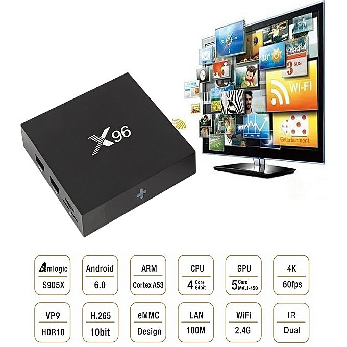 30d62eb403e Android TV Box X96 Mini
