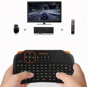 Viboton S1 Wireless Rechargeable Keyboard with Air Mouse