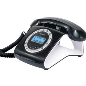 Beetel M73 Retro Design Landline Phone Black