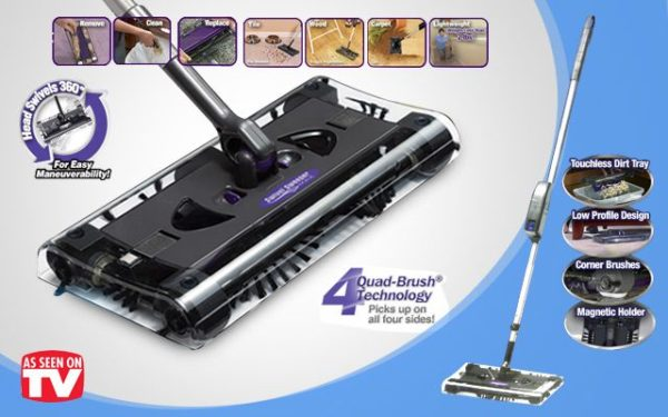 Cordless-Rechrageable-Quad-Brush-Sweeper