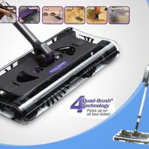 Cordless Rechrageable Quad-Brush Sweeper