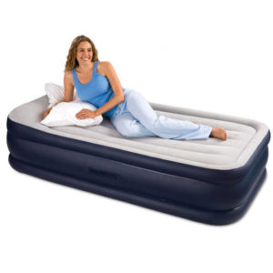 Intex Deluxe Air Mattress with Builtin Pump and Pillow Rest