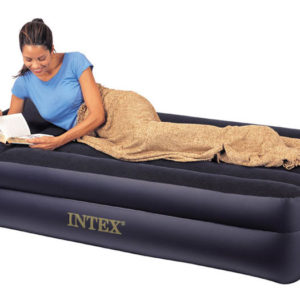 Intex Dual Layer Air Bed with Pillow Rest