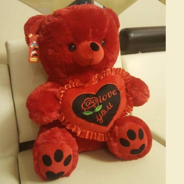 Radiant Red Teddy Bear