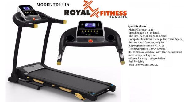 Royal Fitness Treadmill TD141A