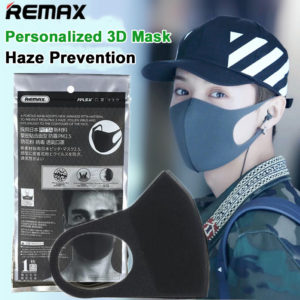 Remax Anti-Haze Facial Mask Black