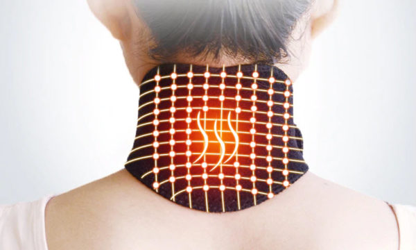 Self Heating Magnetic Therapy Neck Pad