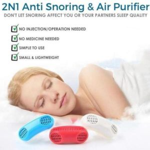 2 in 1 Anti-Snoring Device