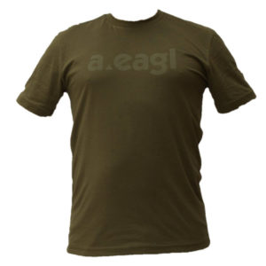 Crew Neck Army Green T-Shirt
