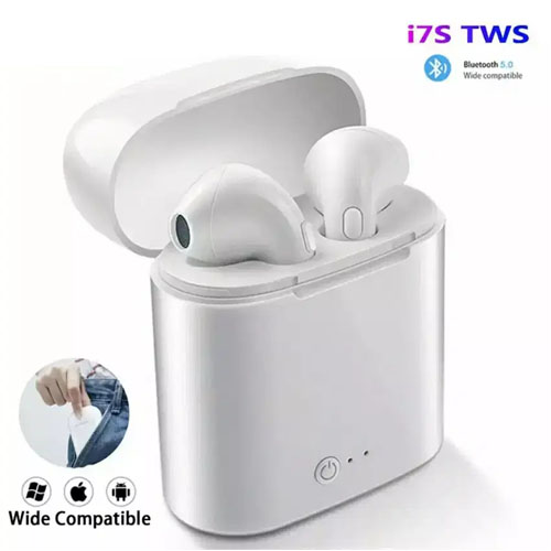 I7S TWS MINI TRUE EARBUDS WITH CHARGING BOX