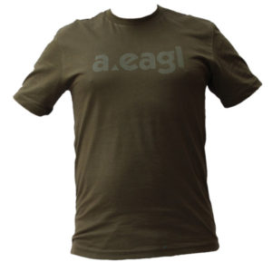 PAKISTAN Crew Neck Army Green T-Shirt