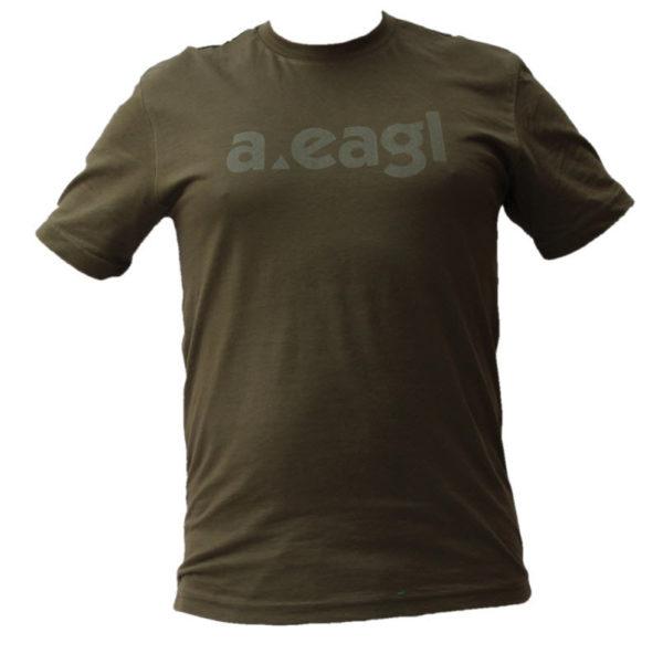 PAKISTAN Crew Neck Army Green T-Shirt
