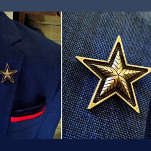 Star Lapel Pin 11