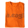 Telebrands Crew Neck Orange T-Shirt
