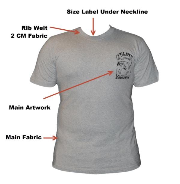 Telebrands PAK Crew Neck Light Grey T-Shirt