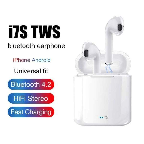 i7s TWS True Ear Buds with Charging Box