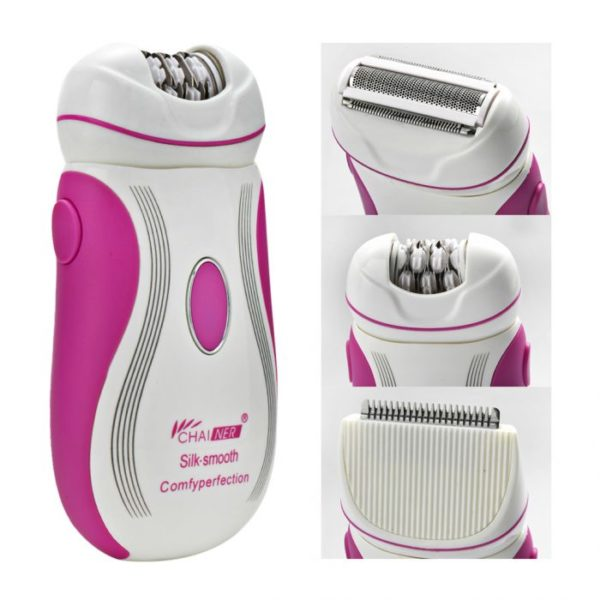 Braouns 3 in 1 Electric Rechargeable Epilator