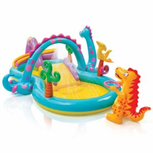 Intex Dinoland Inflatable Paddling Pool Play Center 57135
